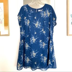 Band of Gypsies Floral Top Blouse With Pockets